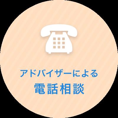 アドバイザーによる電話相談